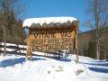 Horský hotel Javor v zimě