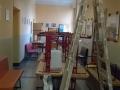 Prázdninové opravy ve škole