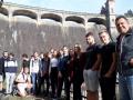 Exkurze tříd T4B a S4E na malé vodní elektrárně Les Království