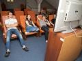 Společenská místnost na domově mládeže