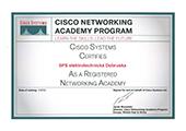 Certifikát CISCO