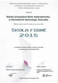 Ocenění za příkladnou přípravu žáků na budoucí povolání a za spolupráci se zaměstnavateli